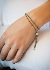 Janelle Khouri Sparkle Bracelet, Available in Gold, Silver, Rose Gold, Oxidized Silver