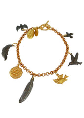 We Dream in Colour Little Bird Charm Bracelet