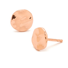 Gorjana Chloe Rose Gold Stud Earrings