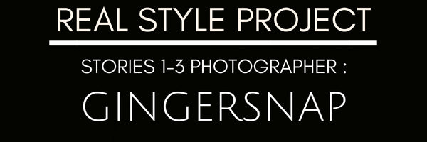 Real Style Project Photographer Gingersnap Photography