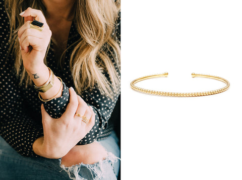 Real Style Project Leah Alexandra Bead Cuff