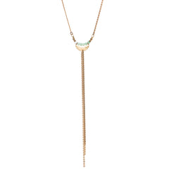 Hailey Gerrits Bolo Necklace