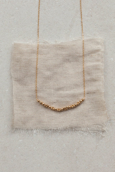 Abacus Row  |  Columba Necklace