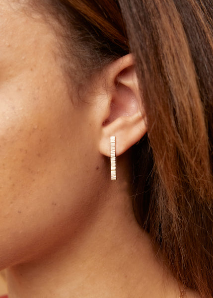 Able Jewelry Luxe Beam Stud Earrings