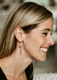 Apostle In House Collection  |  Jasper Earrings, Gold or Silver