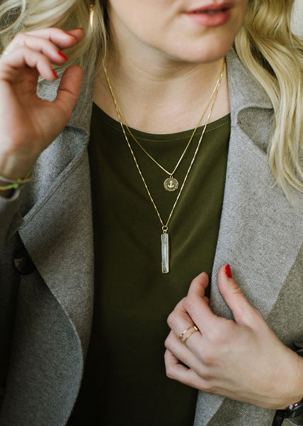 Apostle In House Collection  |  Constant Necklace, Moonstone