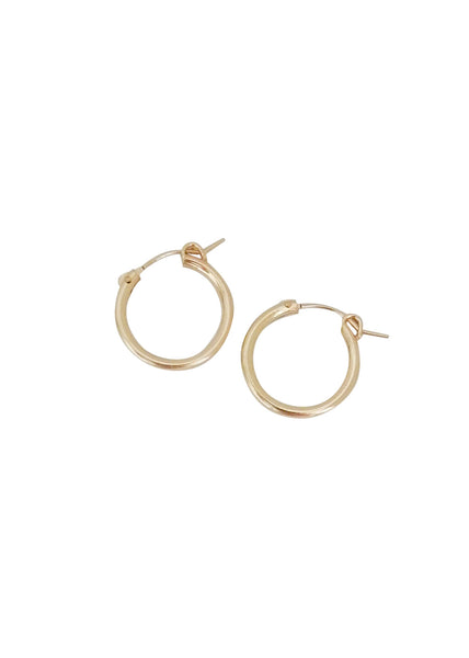 Apostle In House Collection  |  Myah xs Hoops, Gold or Silver