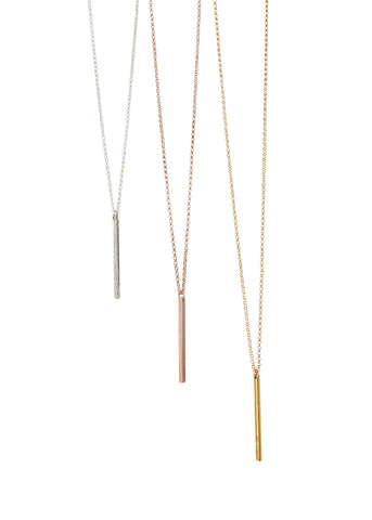 Apostle In House Collection  |  Straight & Narrow Necklace