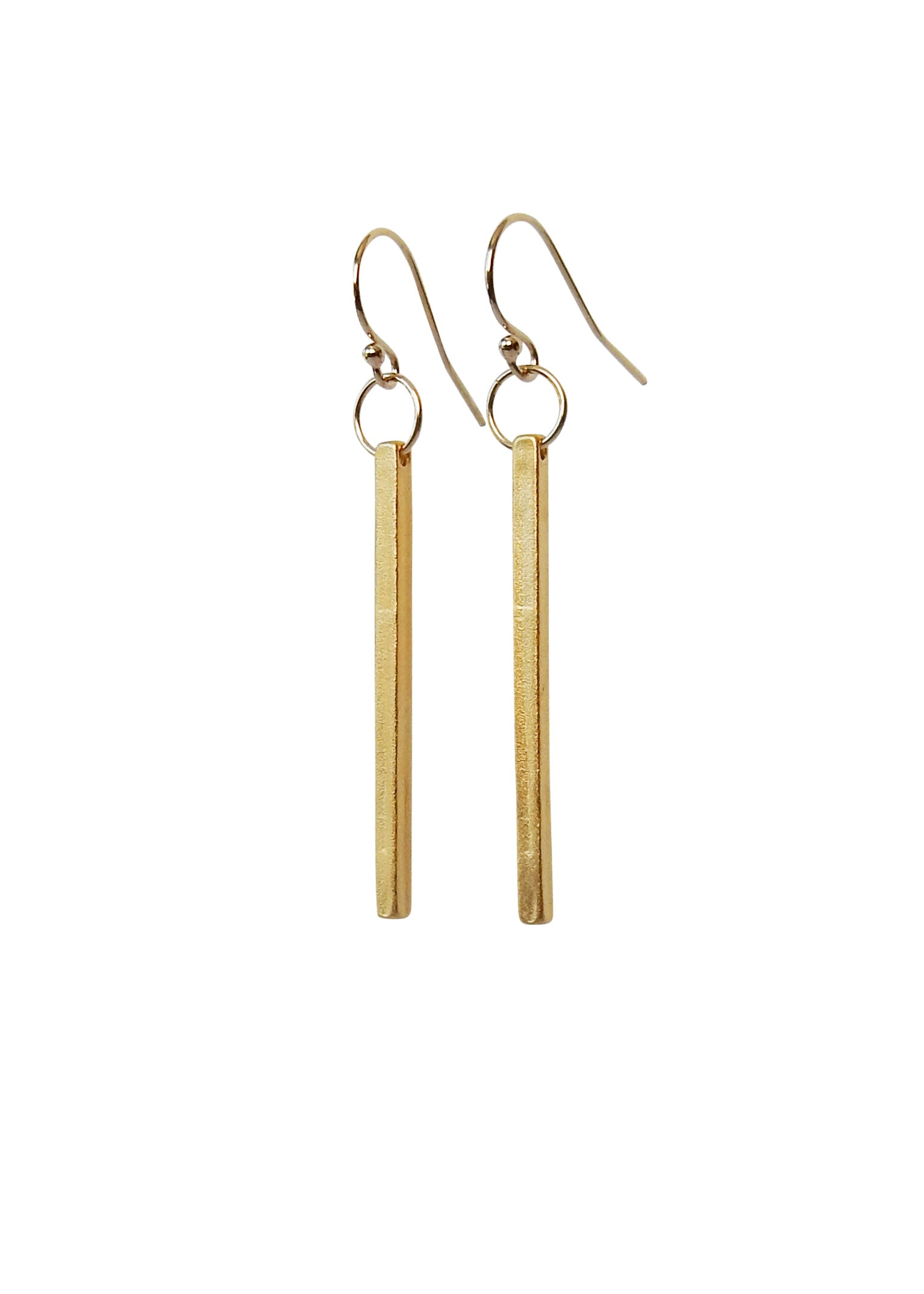 Apostle In House Collection Straight & Narrow Earrings, Gold
