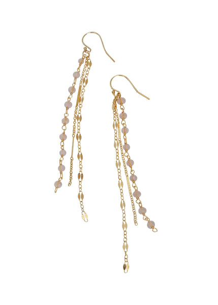 Beautiful Feminine Drop Earrings for Wedding Bridal Everyday