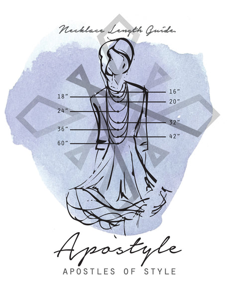 Apostyle Necklace Length Guide