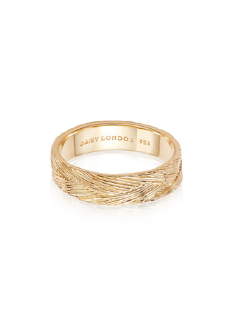 Daisy London  |  Artisan Woven Stacking Ring