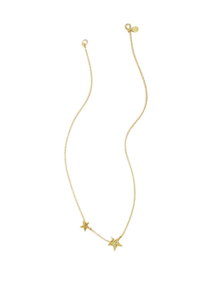Gorjana Super Star Necklace Gold