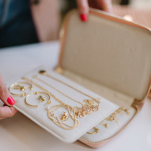 Leah Alexandra  |  Jewelry Travel Wallet
