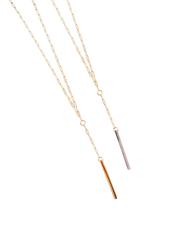 Joanna Bisley  |  Derby Necklace, Brown or Grey