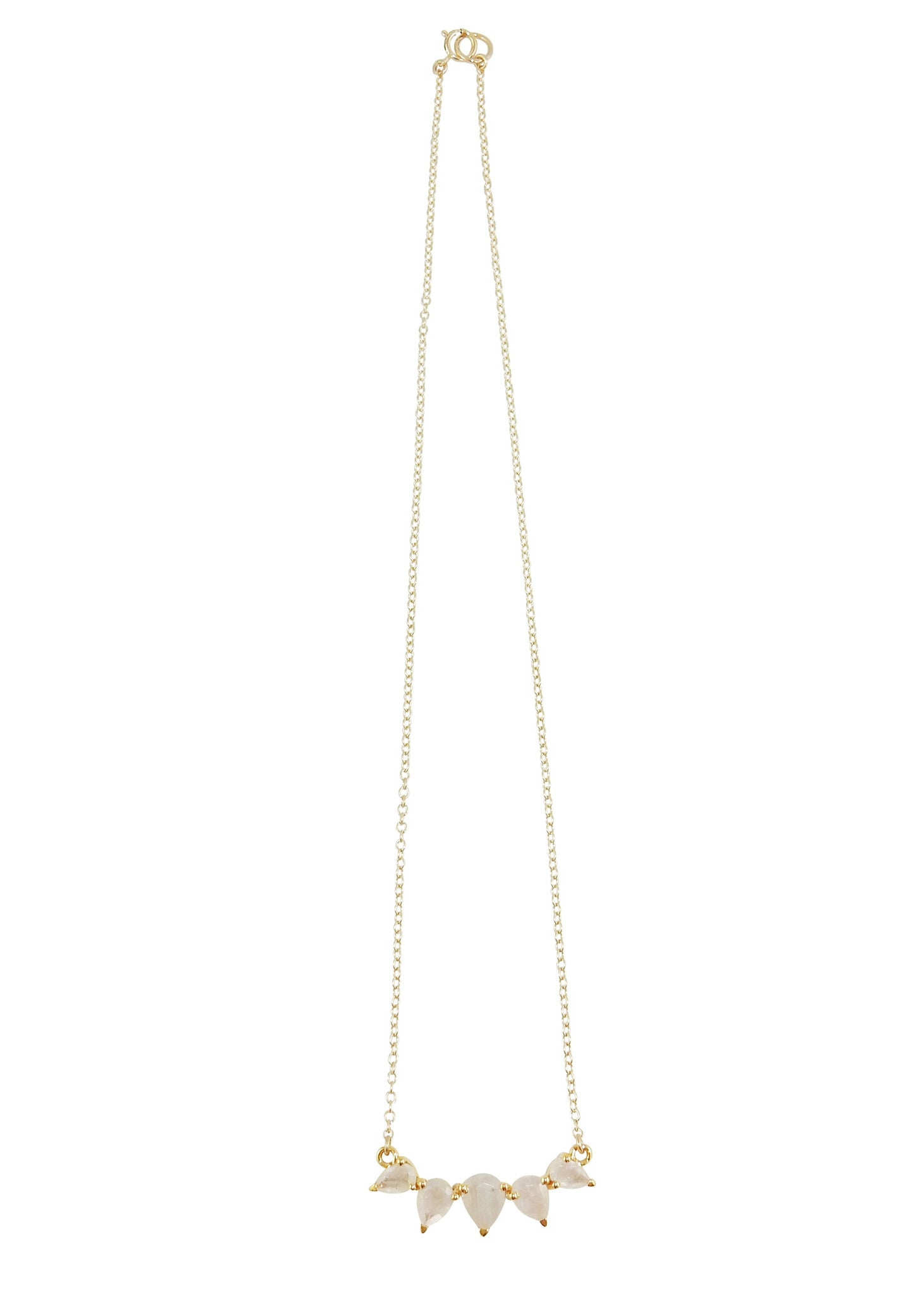 Leah Alexandra Moonstone Sunny Necklace