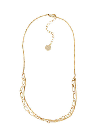 Lover's Tempo  |  Aya Necklace, Gold