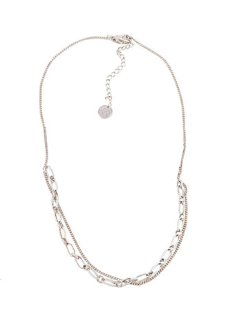 Lover's Tempo  |  Aya Necklace, Silver