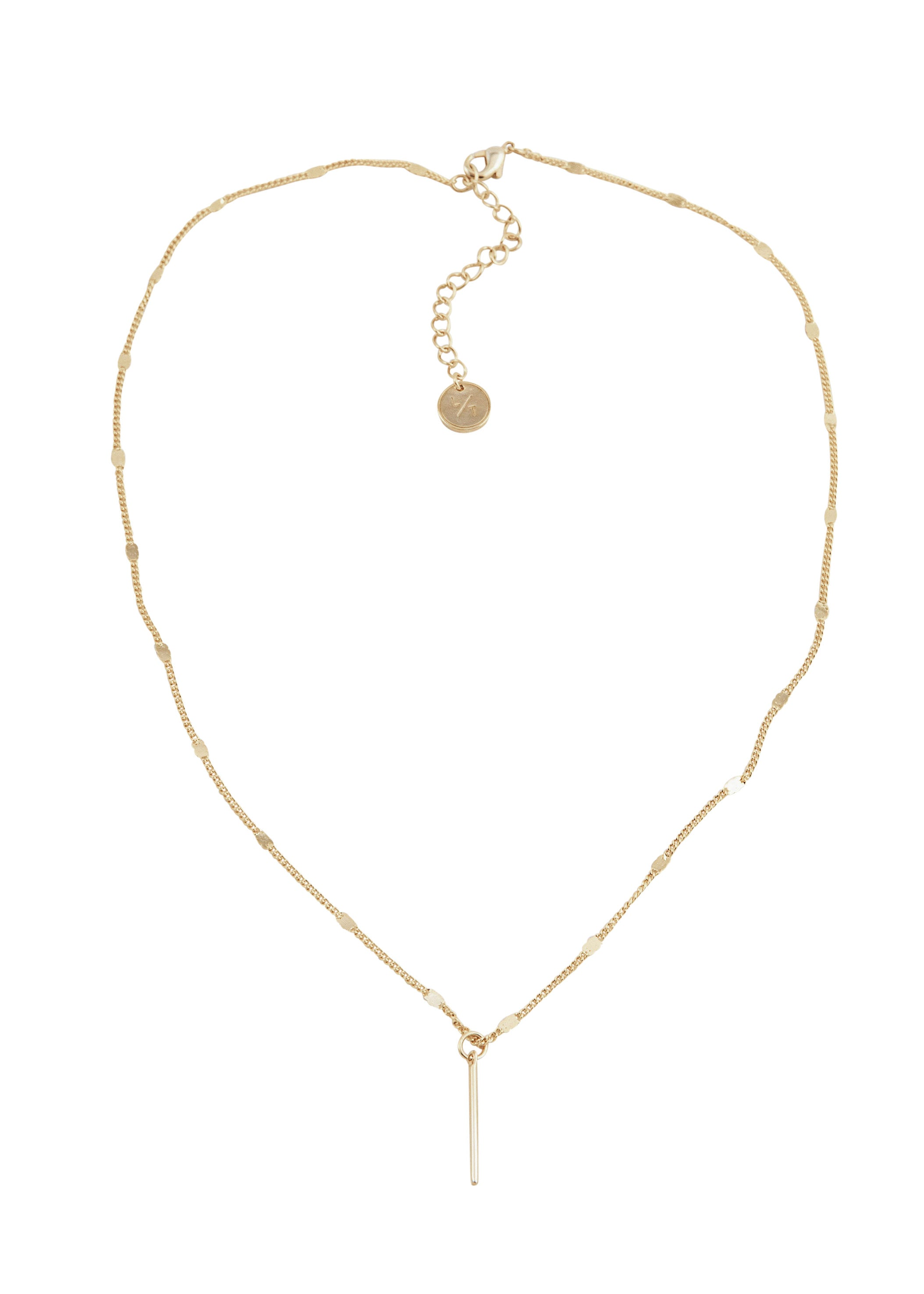 Lover's Tempo Everly Bar Necklace