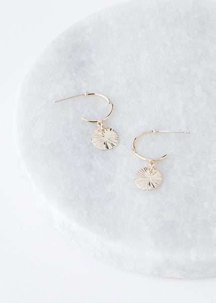 Lover's Tempo Everly Circle Hoop Earrings