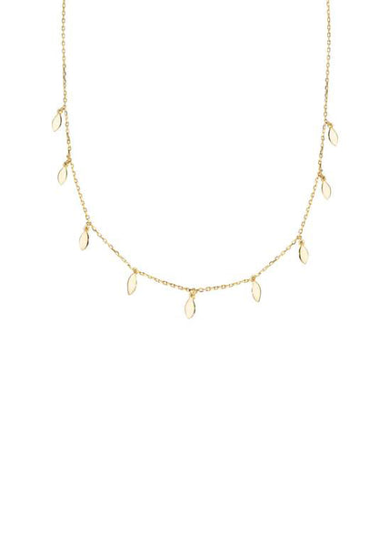 Shashi Jewelry Canada Alessandra Necklace Gold