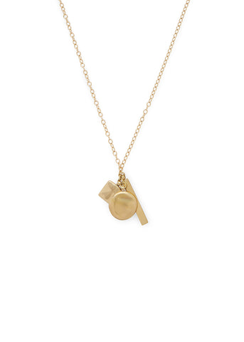 Soko  |  Triple Charm Necklace