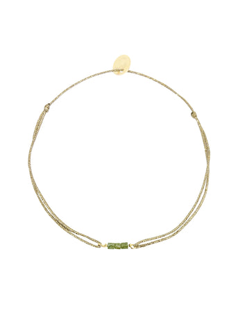 Sophie Deschamps  |  Grace Bracelet, Green, Blue or Grey Rough Diamonds