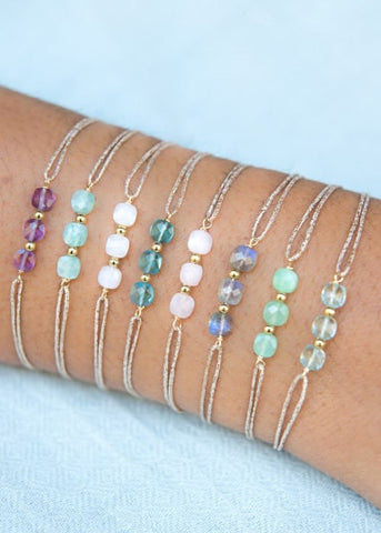 Sophie Deschamps Maya Delicate Gemstone Bracelet