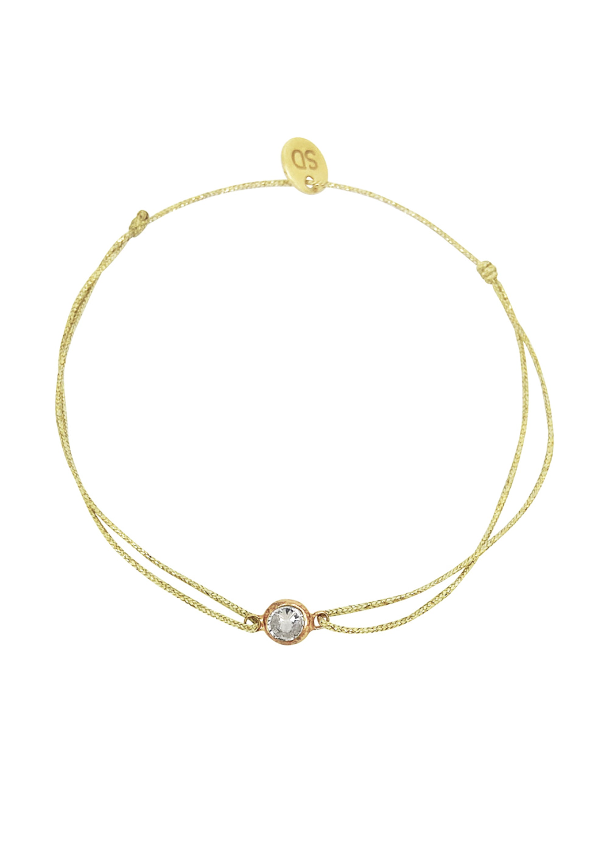 Sophie Deschamps Zirco Rose Gold Delicate Bracelet