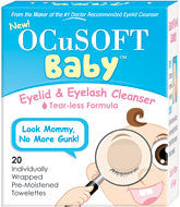 Ocusoft Baby Lid and Eyelash Cleanser 20/box