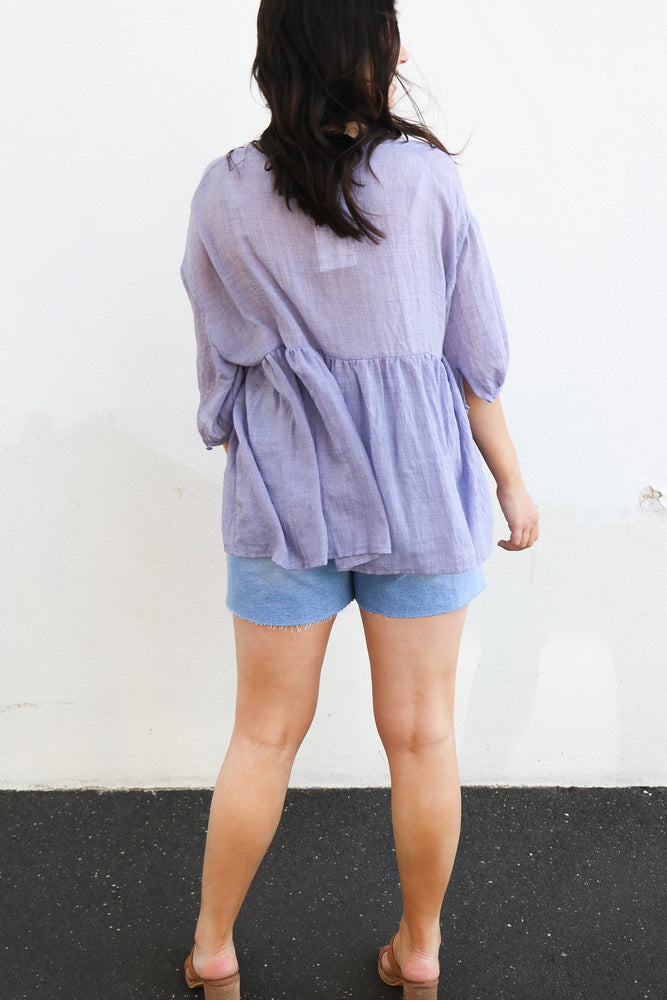 Load image into Gallery viewer, Lolita Top (lilac)
