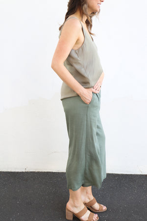 Load image into Gallery viewer, Jupiter Cami (khaki)