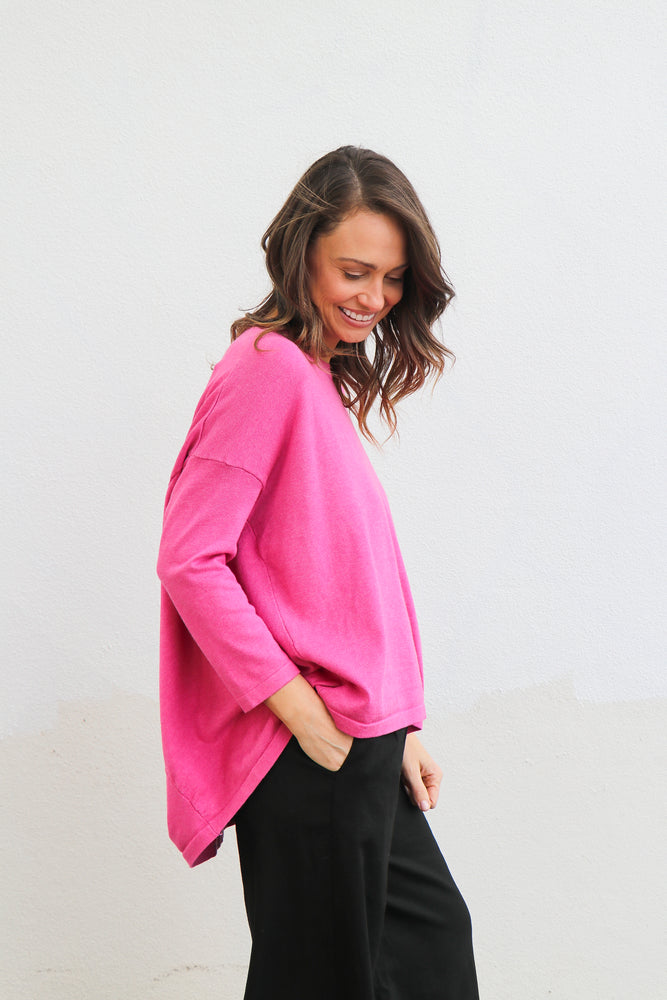 Franklin Knit (hot pink)