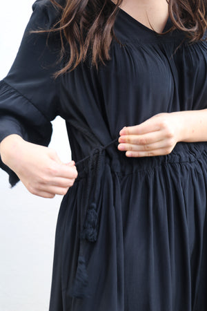 Load image into Gallery viewer, Zee Dress (Black)
