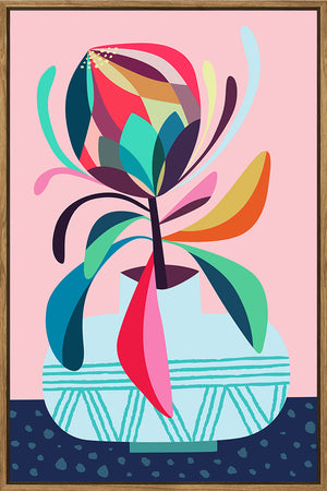 Protea Canvas with Frame 40x60