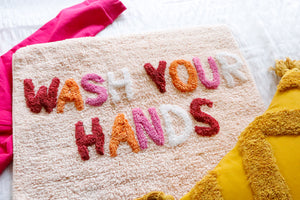 Wash Your Hands (peach)
