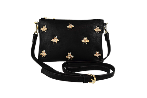 Peta and Jain Bee Pouch (black)