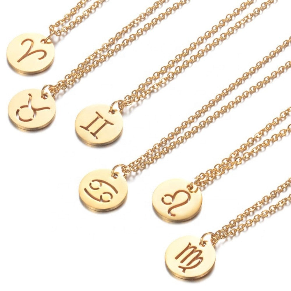 Load image into Gallery viewer, Gemini Necklace (gold)