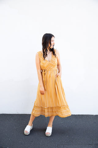 Junction Dress (mustard)