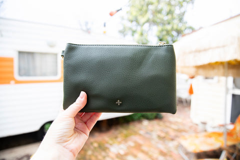 Peta and Jain Ava Clutch (khaki)
