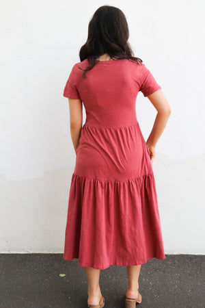 Load image into Gallery viewer, Vera Dress (rose)