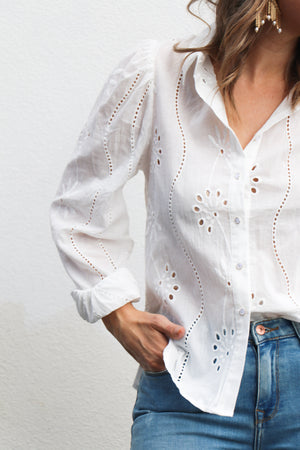Knowles Blouse (white)