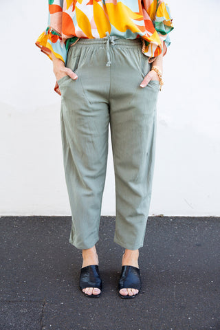 Lotus Pants (pistachio)