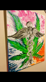 Custom 420 hand paintings