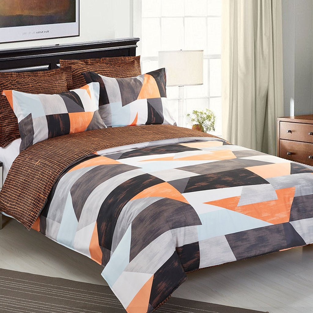 Hot sales! NTBAY 5 Pieces Printed Microfiber Duvet Cover Set