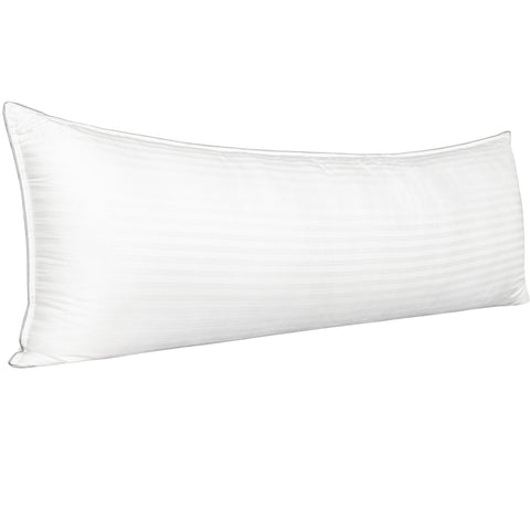 NTBAY Cotton Body Pillow, Hypoallergenic and Fluffy Soft Down Alternative Pillow for Sleeping, 20 x 54 Inches