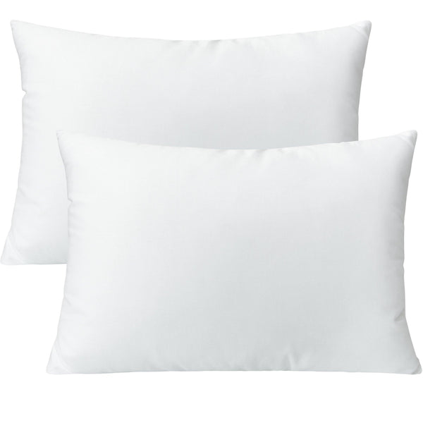 NTBAY 2 Pack Cotton Down Alternative Toddler Pillows
