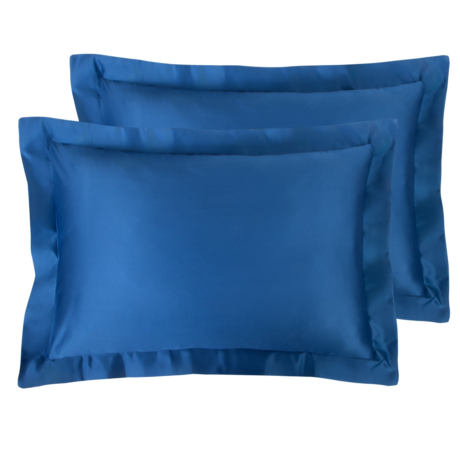 NTBAY Silky Satin Pillow Shams Set of 2