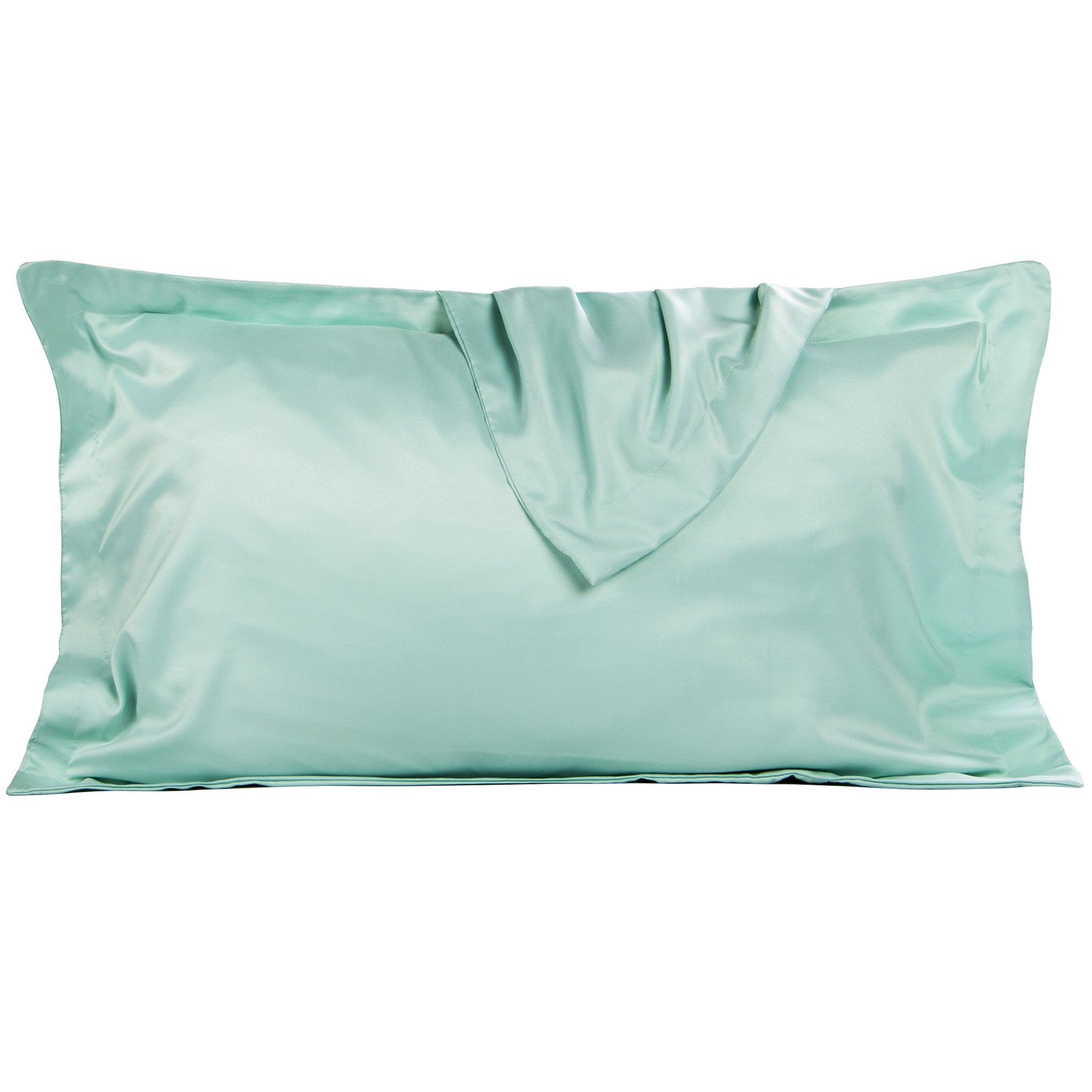 NTBAY Silky Satin Pillow Shams Set of 2 - NTBAY