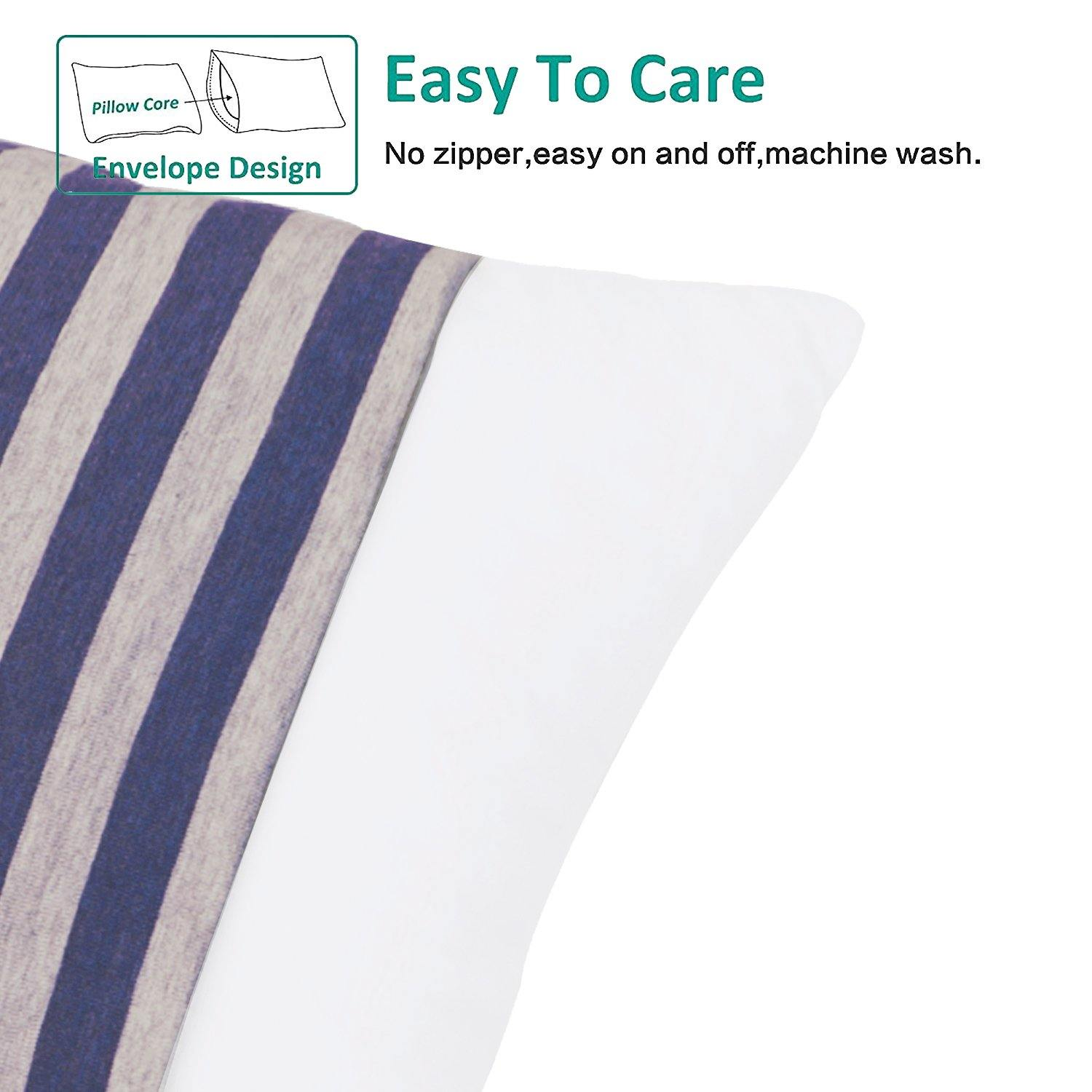 "NTBAY 100% Organic Cotton Toddler Pillowcases Set of 2, Soft and Breathable, 13""x 18"" - NTBAY"